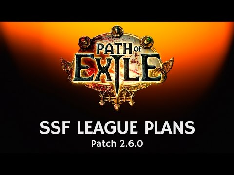 Masterplan for the upcoming SSF Legacy League in Path of Exile - Patch 2.6.0