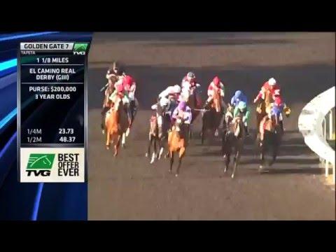 RACE REPLAY: 2016 El Camino Real Derby
