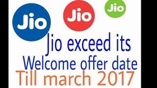 'jio 2017' Jio Extended Preview Offer To March 2017 How They Do