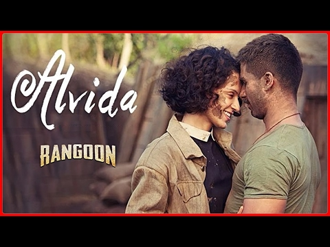 Alvida Video Song   Rangoon   Saif Ali Khan, Kangana Ranaut, Shahid Kapoor   T-Series