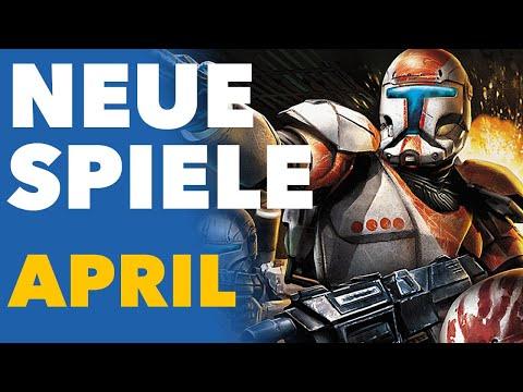 Der APRIL geht gleich mit richtig tollen Spielen los! - Release-Vorschau