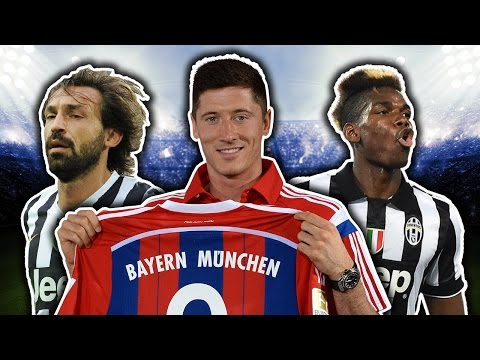 Best Ever Free Transfers XI | Lewandowski, Pogba, Pirlo!