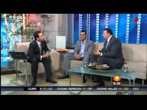 Alberto Del Rio regresa a MEXICO y habla de su carrera en Primero Noticias