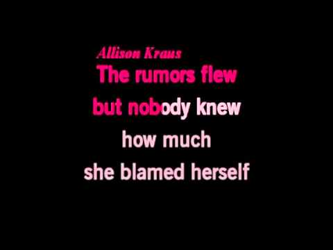 Whiskey Lullaby Karaoke - Brad Paisley & Alison Krauss (no Bg Vocals) video