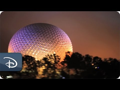 A Model Day at Epcot - Exclusive Disney Parks Tilt-Shift Video