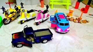 MINI  VEHICLE    TOYS FOR KIDS -BIKE ,SCOOTER, BUS AND JEEP TOYS FOR KIDS