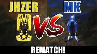 Rocket League | Random Cars 1v1 | JHZER vs MK (Rematch!)