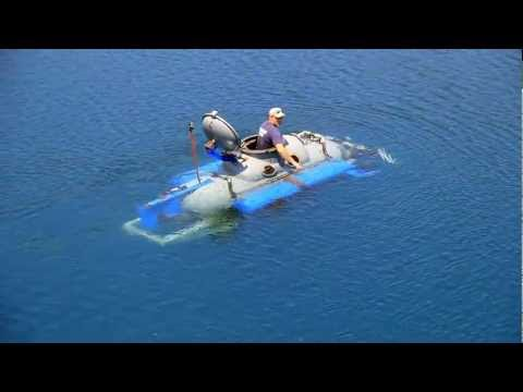 Propane Tank Submarine - Rock Quarry