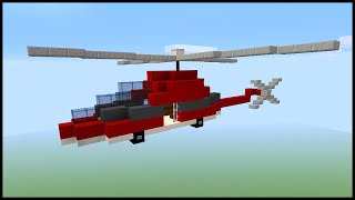 Minecraft: How to Make a Helicopter!