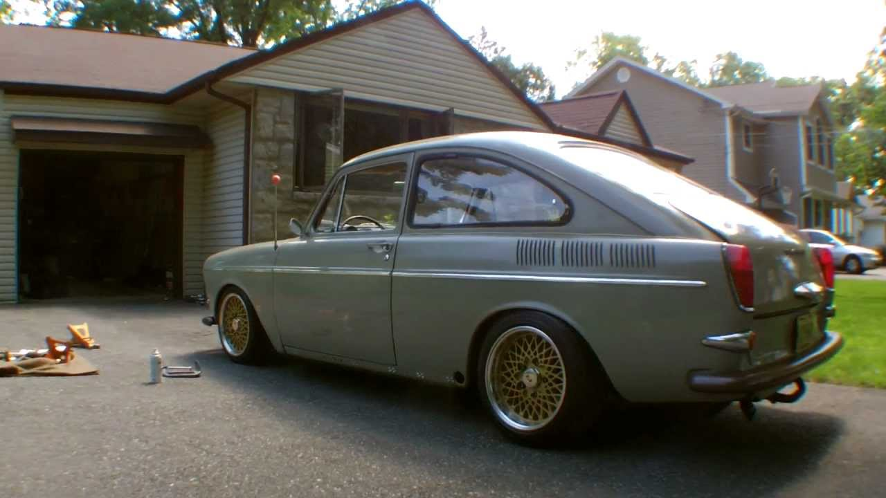 vw type 3 fastback - updated torsion bar - YouTube
