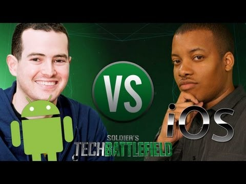 iOS vs Android Battle! - Soldier Knows Best vs Jon Rettinger - Soldier's Tech Battlefield