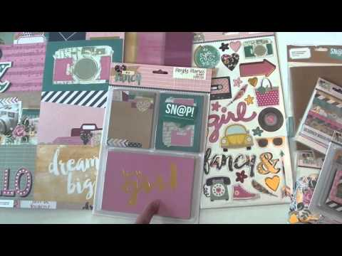 New Simple Stories paper collections