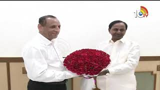 KCR Meets With Governor Narasimhan Over Council meetings | Raj Bhavan