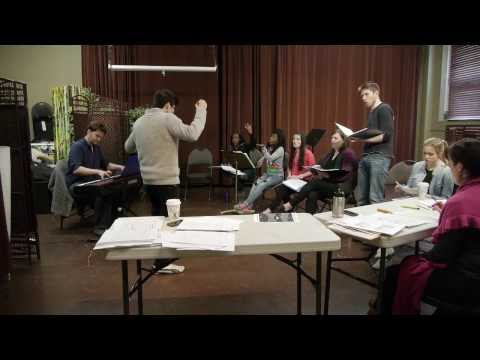 IN REHEARSAL PROMO: Montreal cast of Merton of the Movies: The Musical (Concert Version)