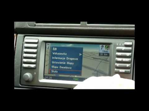 Ostrzeganie przed radarami BMW polskie menu nawigacja e39 x5 x3 e46 www.menupolskie.pl