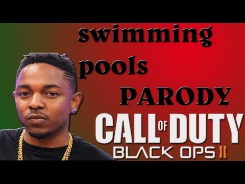 Kendrick Lamar - Swimming Pools (Drank) (Music Video Parody) Black ops 2