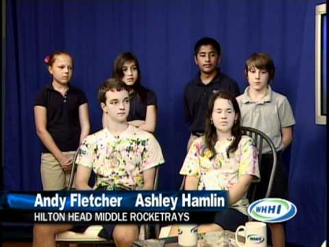 "WHHI-TV's ""Talk of the Town"" ~ Hilton Head Middle School RocketRays ~ 5/29/12"