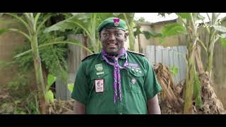 MESSAGE FROM THE CHIEF  COMMISSIONER, THE SCOUT ASSOCIATION OF NIGERIA-  DAVE AWUNAH