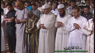 تراويح 2016 الليلة 7 من مسجد الحسن الثاني بالدار البيضاء مع الشيخ عمر القزبري