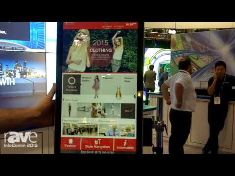 InfoComm 2015: Advantech Talks About the UTC-620 21.5″ Retail Touch Computer