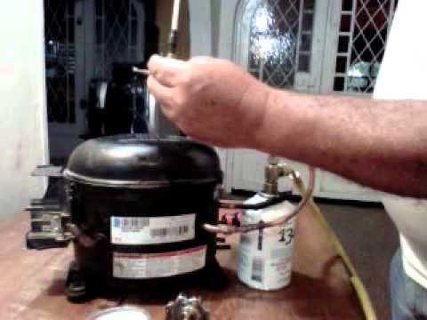 Como cargar refrigerante r404a