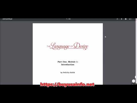 The Language of Desire Review: Membership Area Sneak Preview!