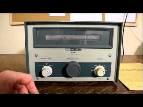 The Heathkit HG-10 VFO and a 1970's Era Amateur Radio Station