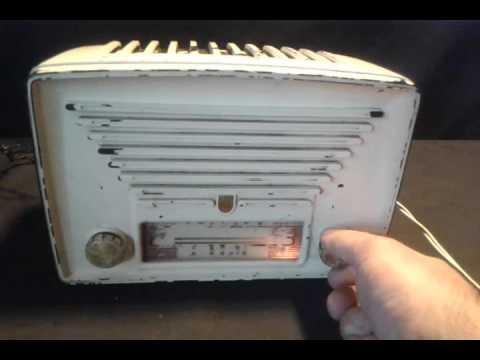 antigua radio valvular philips