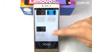 LENOVO K6 note ревю  /  UNBOXING & Hands on REVIEW