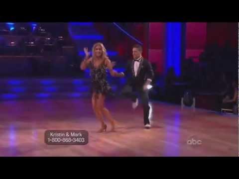 Kristin Cavallari and Mark Ballas Dancing with the Stars cha cha