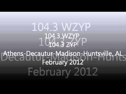 Alabama Rhythmic & CHR Top 40 Aircheck Samples 2011-2012 Part 2