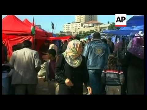 Preparations for Eid in Gaza and Ramallah