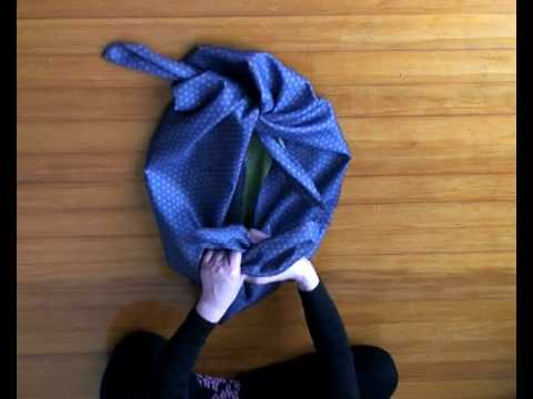 Furoshiki 1 Basic knot & Wrapping