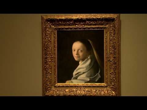 "Gallery Views of ""Vermeer s Masterpiece: The Milkmaid"""