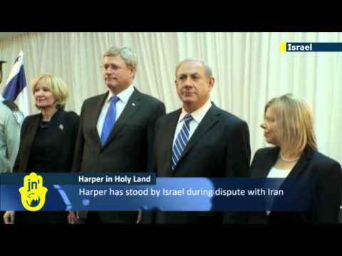 Stephen Harper in Israel: Canadian PM lauded by Israeli PM Netanyahu for support for Jewish State
