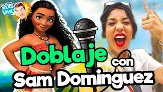 FANDUB (doblaje Moana) con Sam Dominguez / Memo Aponte