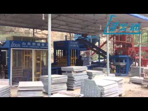 LTQT8-15 full-automatic brick production line