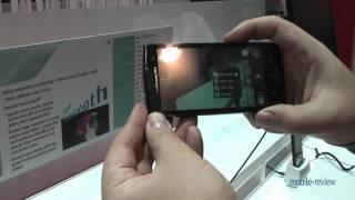 Fujitsu Arrows X LTE F05-D Demo
