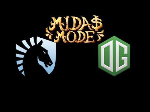 Liquid vs OG Midas Mode Highlights Dota 2