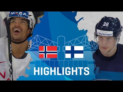 Norway - Finland | Highlights | #IIHFWorlds 2017