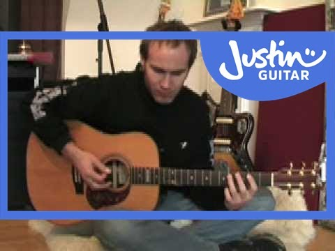Easy Acoustic Solo Blues Lesson #1of3 (Guitar Lesson PR-001) How To Play