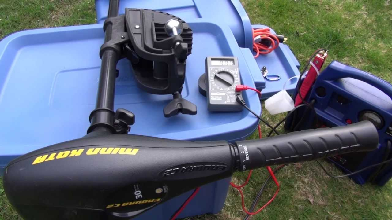 как сделать електро мотор на лодку