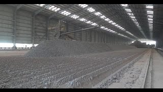 Stacker and Reclaimer for Limestone Storage in the Cement Plant