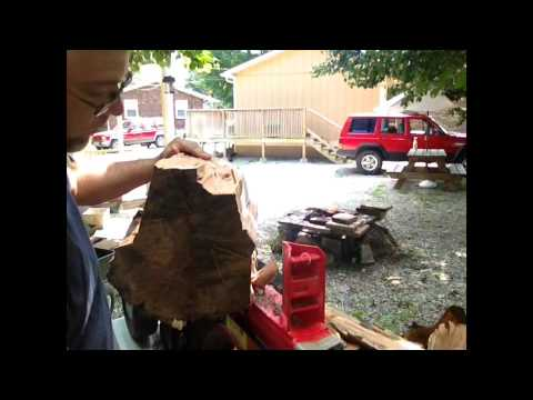TIPS SPLITTING WOOD WITH ELECTRIC LOG SPLITTER