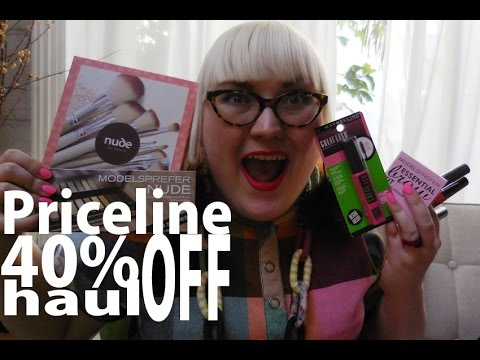 Priceline 40% Off Sale Haul - Australis, Models Prefer, Maybelline & Nude By Nature