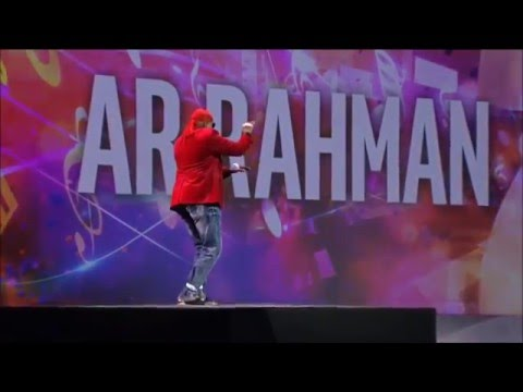 A. R. Rahman Makes Music Out of Thin Air at CES 2016