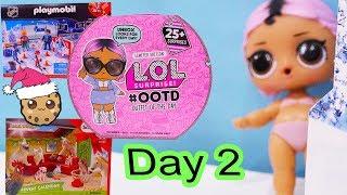 Day 2 ! LOL Surprise - Playmobil - Schleich Animals Christmas Advent Calendar - Cookie Swirl C