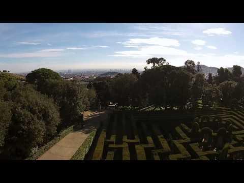 Prohibido Drones, banned drones - BCNDJI - Laberinto de Horta, Horta's labyrinth