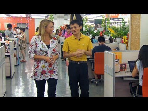 """60 Minutes"" talks with founder of Alibaba, largest e-commerce company"