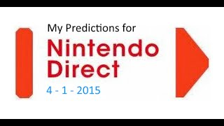 April Fools Direct: My Predictions